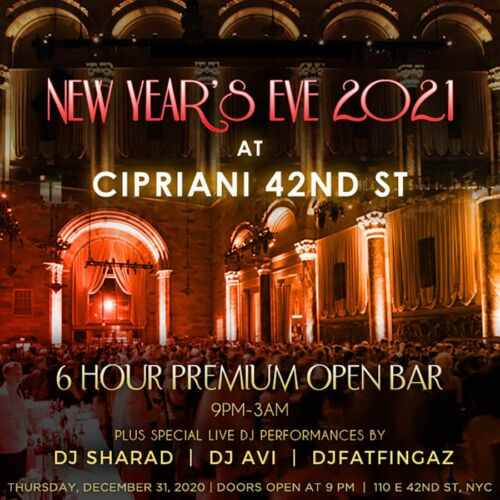cipriani new years