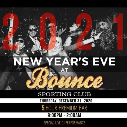 bounce new years eve