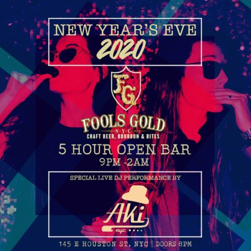 Fools Gold New Years Eve