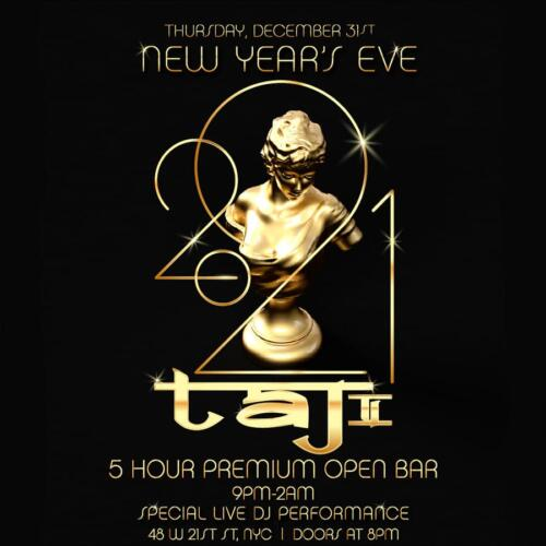 Taj lounge New Years Eve
