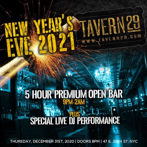 Tavern 29 New Years Eve